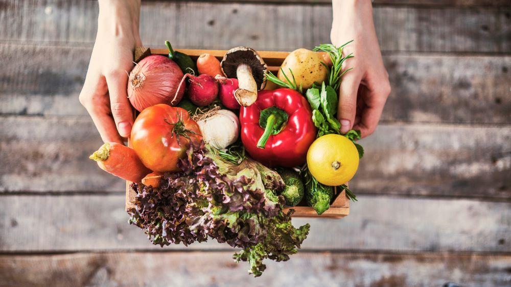 Alimentation équilibrée supermarché